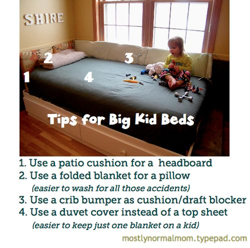 Big kid bed tips